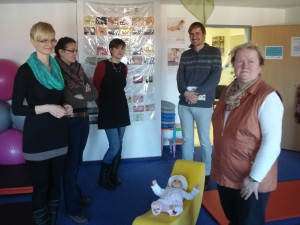Projektgruppe zu Besuch im Familienzentrum Oschersleben