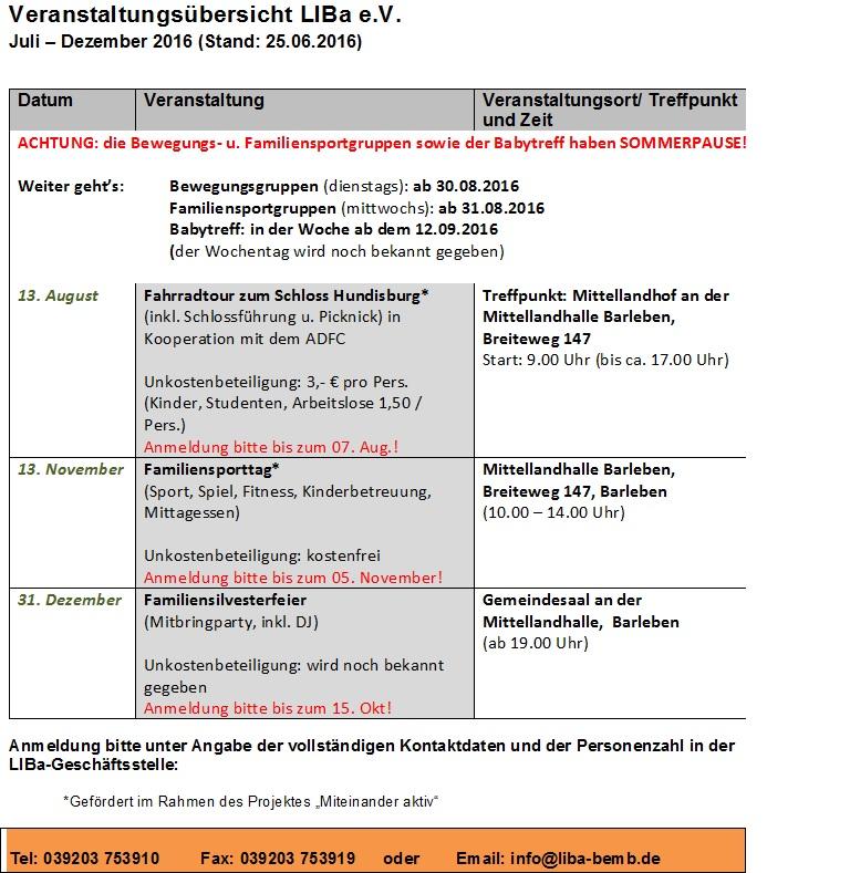Veranstaltungsübersicht LIBa e V  von Juli-Dezember 2016 jpg