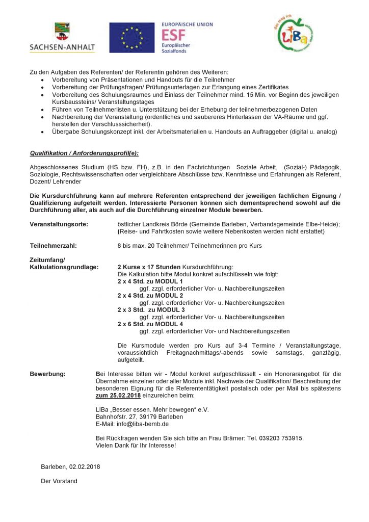 Ausschreibung Referenten2018CLH 2
